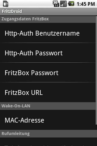 FBDroid - screenshot