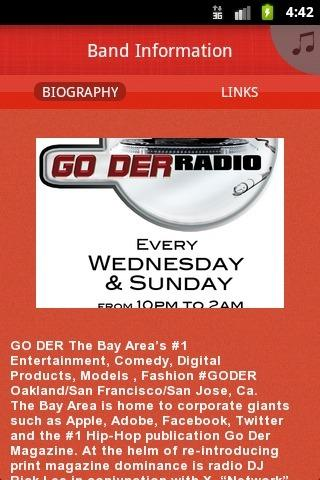 GO DER RADIO - screenshot