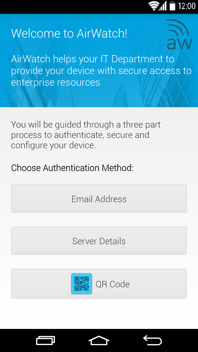 AirWatch Agent Android 1