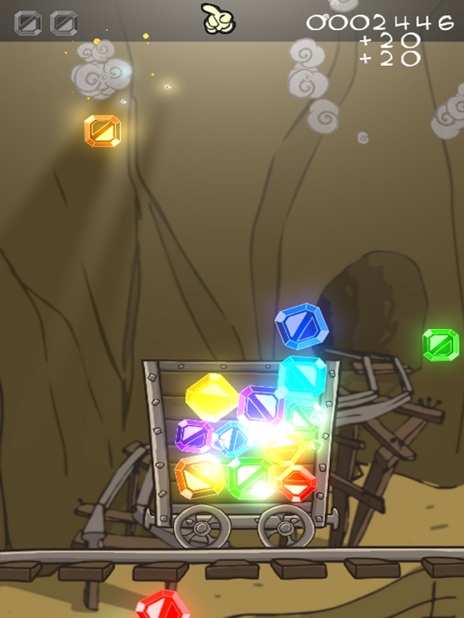 GemDrop - screenshot