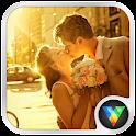 Elegant Romantic Love LWP icon