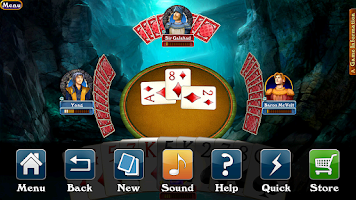 Screenshot of Hardwood Spades (Free)