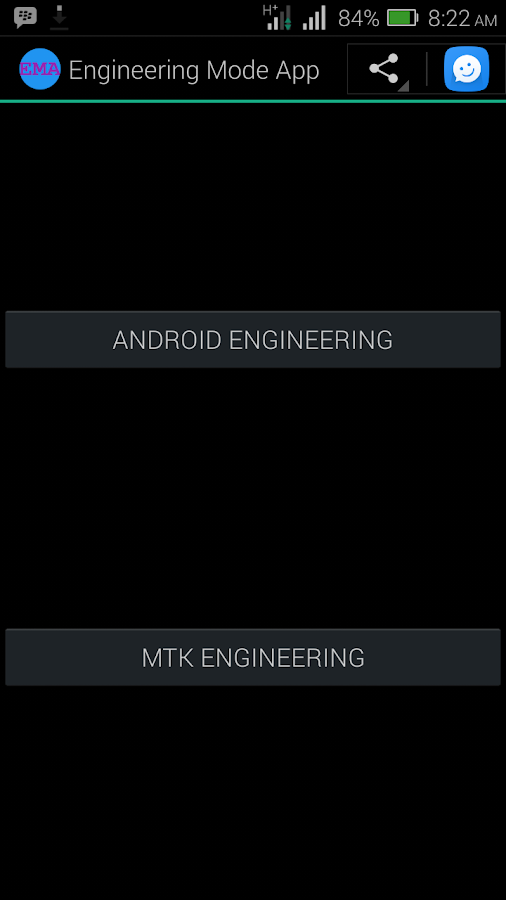 MTK Engineering Mode- screenshot