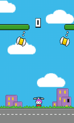 Flappy copter-Swing Up