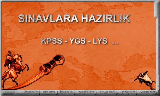 KPSS-YGS -LYS-TARİH Demo