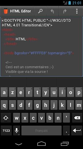 HTML Editor