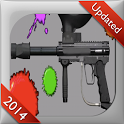 Virtual Paintball Gun - FREE icon