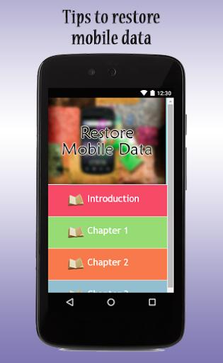 玩免費生產應用APP|下載Restore Mobile Data Guide app不用錢|硬是要APP