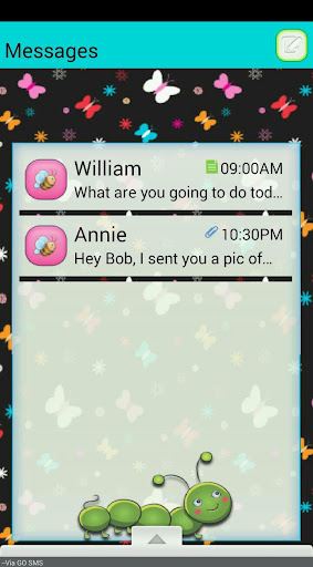 SummerTime GO SMS THEME