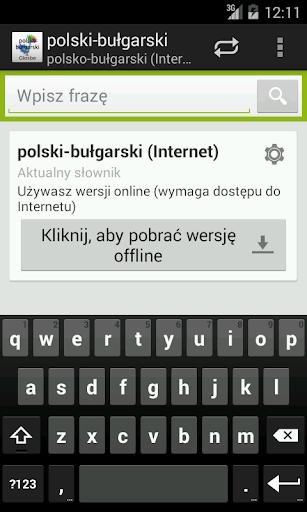 Polsko-Bułgarski słownik