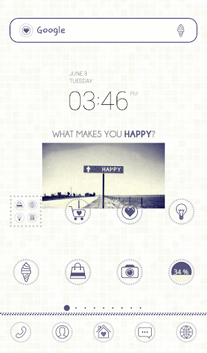find happiness dodol theme