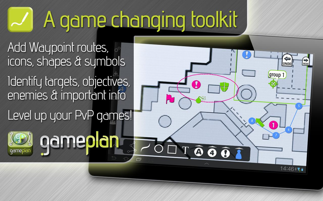 GamePlan: strategy gamers tool- screenshot