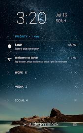 Echo Notification Lockscreen Screenshot 13