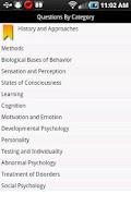 Screenshot of meStudying: AP Psychology
