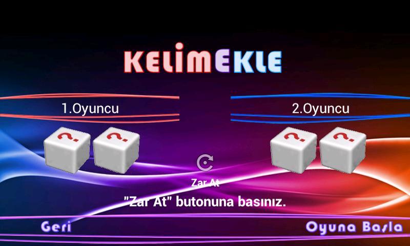 Kelime Ekle- screenshot
