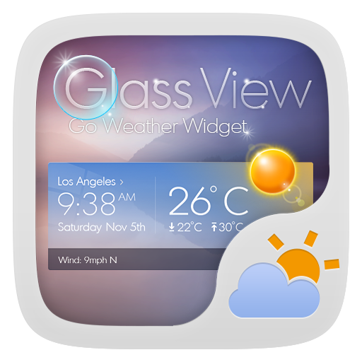 Glass View Theme GOWeather LOGO-APP點子