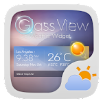 Glass View Theme GOWeather 1.2