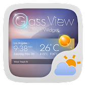 Glass View Theme GOWeather