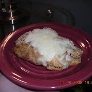 Cheesy Breaded Chicken