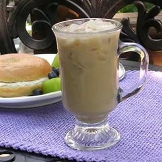 Sara's Iced Coffee.
