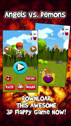 【免費街機App】Tappy Angels and Demons (FREE)-APP點子