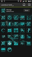 Screenshot of Laser GO LauncherEX Theme