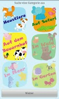 Screenshot of Kinder erste Worte: Tiere *