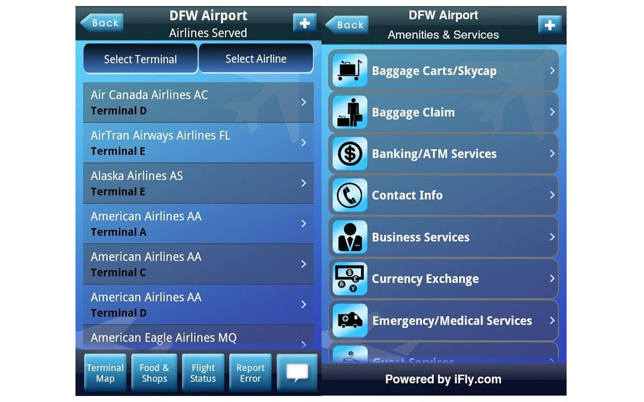 iFly Airport Guide- screenshot