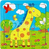 Animal Puzzle For Toddlers