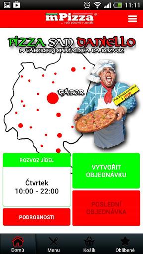 Pizzerie San Daniello Pražák