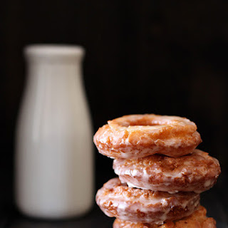 Old-Fashioned Sour Cream Doughnuts.