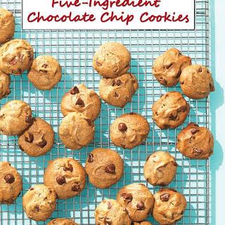 Gluten Free Five-Ingredient Chocolate Chip Cookies.