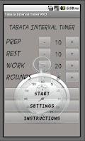 Screenshot of Interval Timer PRO