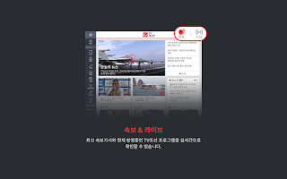 Screenshot of TV조선 뉴스