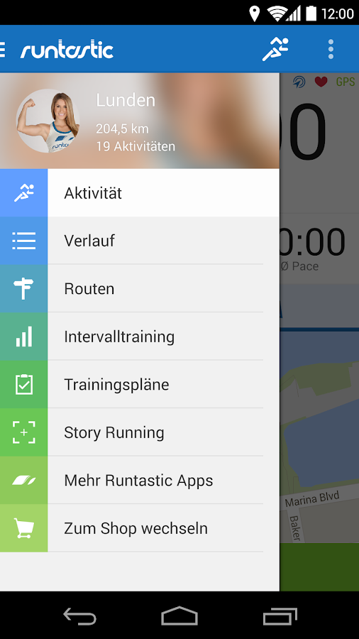 Runtastic PRO Laufen & Fitness - screenshot