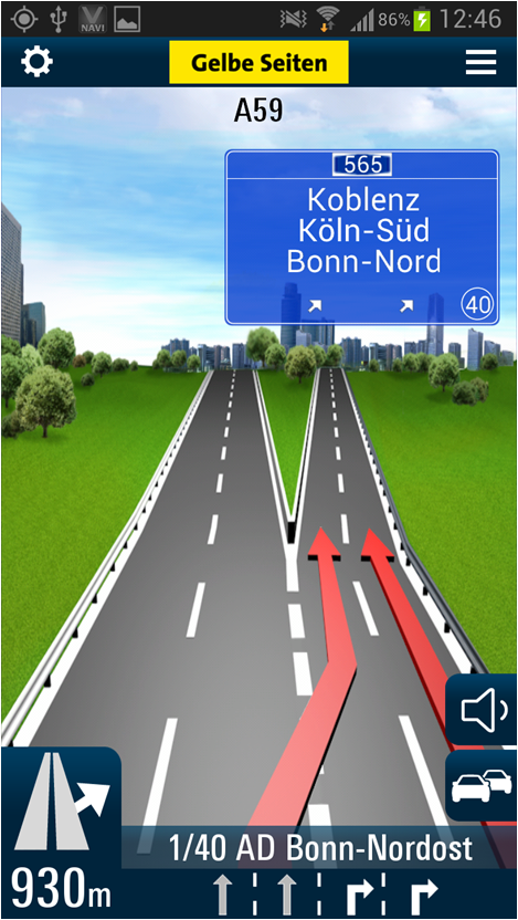 V-Navi - screenshot