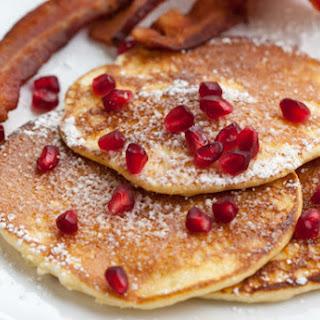 Light and Fluffy Lemon Pancakes.