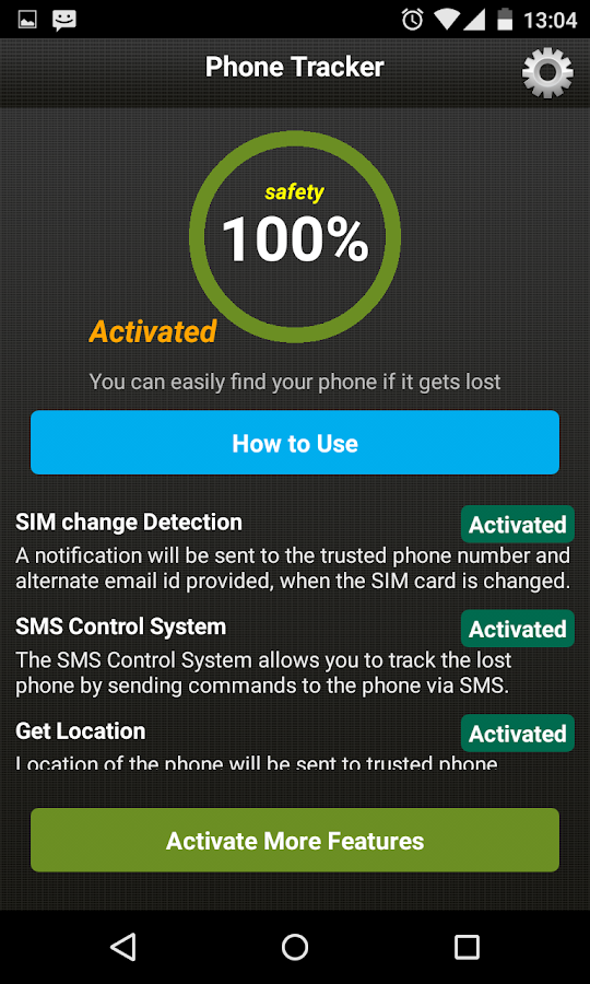 Phone Tracker - Anti Theft- screenshot