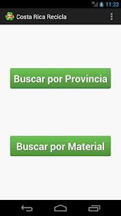 Costa Rica Recicla screenshot