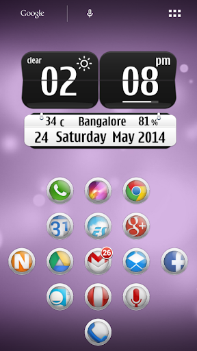 iBubbles NOVA APEX Theme
