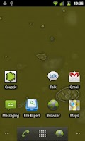 Screenshot of SwampWater Live Wallpaper