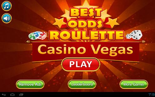 Casino best odds vegas