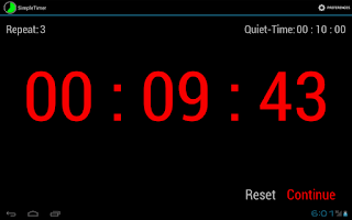 Screenshot of Simple Timer