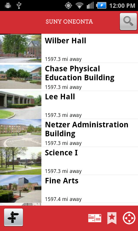 SUNY Oneonta Campus Tour - screenshot