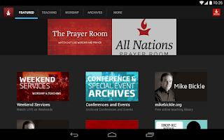 Screenshot of International House of Prayer