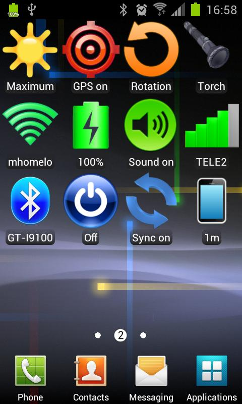 Widget WiFi - screenshot