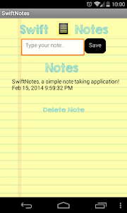 SwiftNotes - Simple Notes screenshot 0