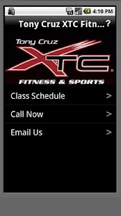 Tony Cruz XTC Fitness - screenshot thumbnail