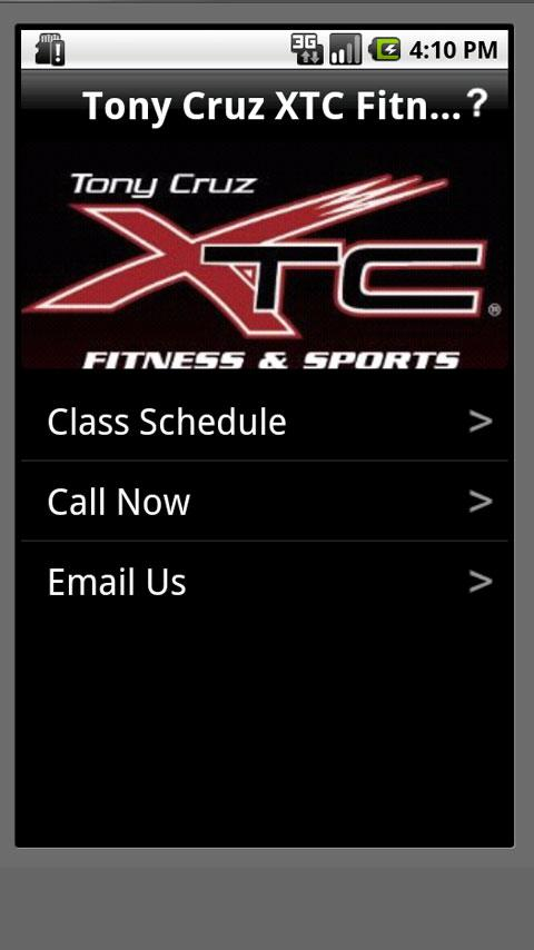Tony Cruz XTC Fitness - screenshot