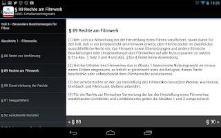 Screenshot of IT-Recht